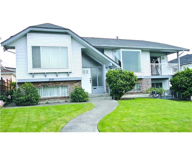Main Photo: 2676 E 23RD Avenue in Vancouver: Renfrew Heights House for sale (Vancouver East)  : MLS® # V956538