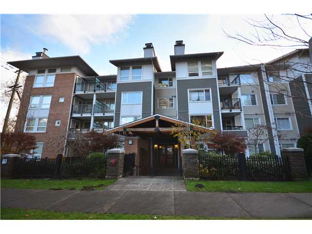 "Main Photo: 319 6888 SOUTHPOINT Drive in Burnaby: South Slope Condo for sale in ""CORTINA"" (Burnaby South)  : MLS®# V980597"