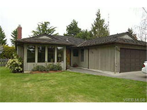 Main Photo: 1844 Prosser Road in SAANICHTON: CS Saanichton Single Family Detached for sale (Central Saanich)  : MLS® # 154254