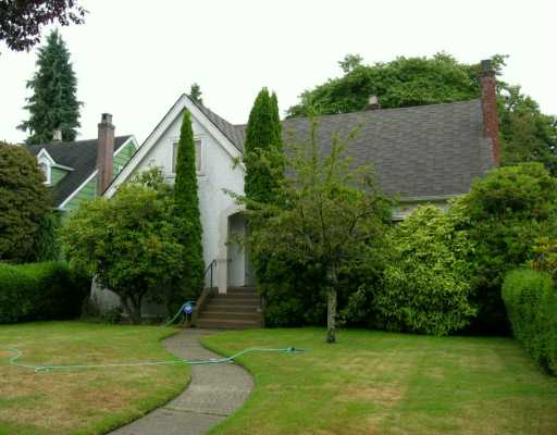Main Photo: 1676 W 59TH AV in Vancouver: South Granville House for sale (Vancouver West)  : MLS® # V610949