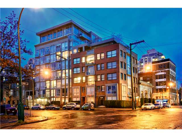 "Photo 1: 604 919 STATION Street in Vancouver: Mount Pleasant VE Condo for sale in ""LEFTBANK"" (Vancouver East)  : MLS(r) # V981945"