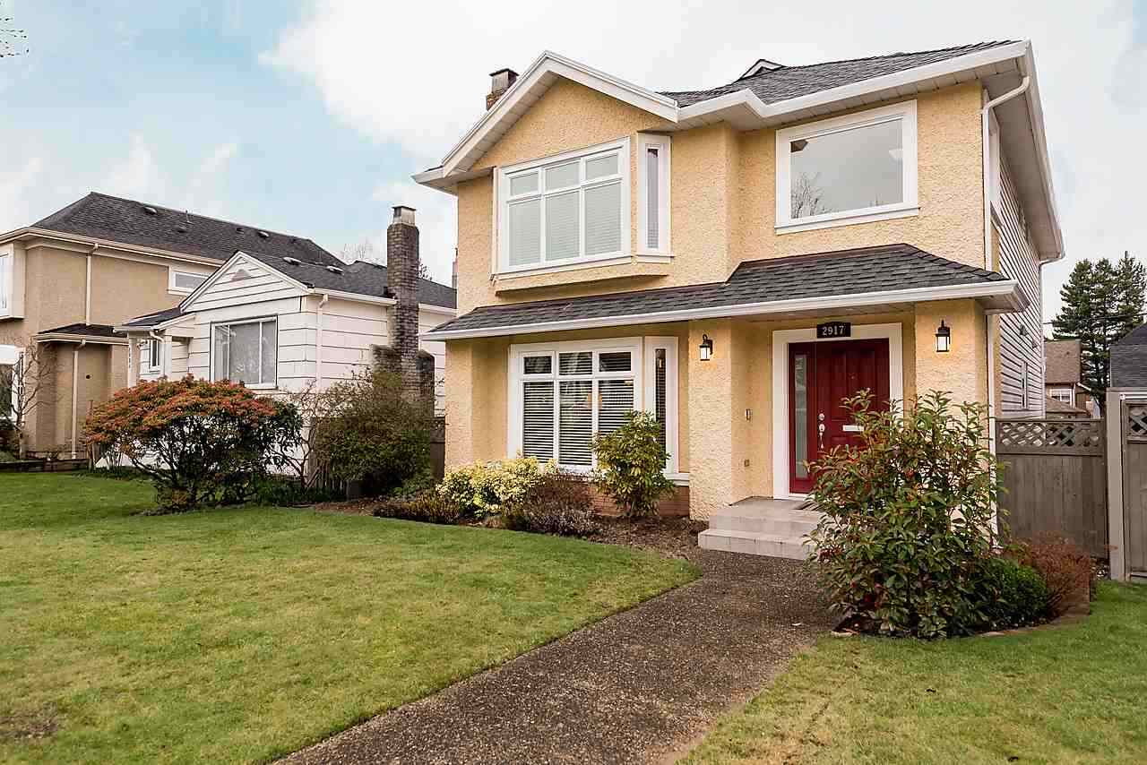 Main Photo: 2917 W 22ND AVENUE in Vancouver: Arbutus House for sale (Vancouver West)  : MLS® # R2077361