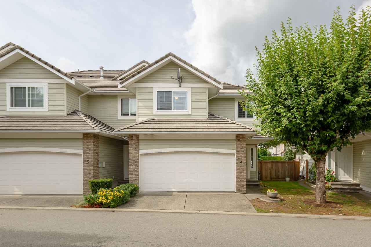 Main Photo: 4 1290 AMAZON DRIVE in Port Coquitlam: Riverwood Townhouse for sale : MLS®# R2315823