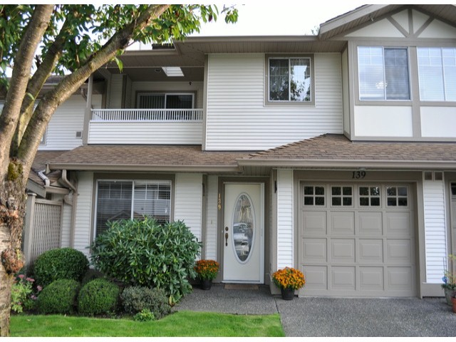 "Main Photo: 139 20391 96TH Avenue in Langley: Walnut Grove Townhouse for sale in ""Chelsea Green"" : MLS® # F1321790"
