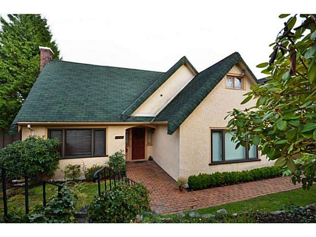 Main Photo: 3442 QUESNEL DR in Vancouver: Arbutus House for sale (Vancouver West)  : MLS(r) # V984334