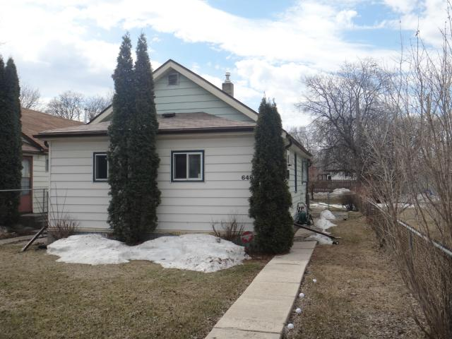 Main Photo: 648 Munroe Avenue in WINNIPEG: East Kildonan Residential for sale (North East Winnipeg)  : MLS®# 1307503