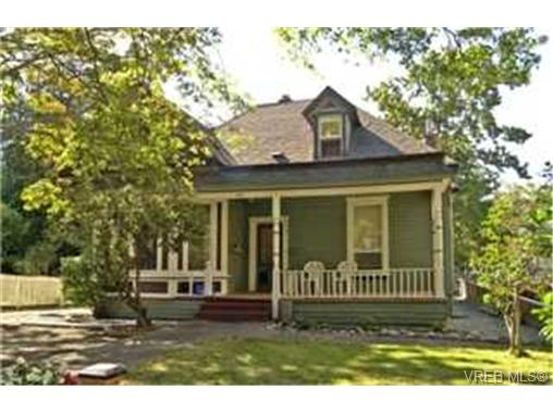 Main Photo: 1312 Stanley Avenue in VICTORIA: Vi Downtown Single Family Detached for sale (Victoria)  : MLS® # 238046