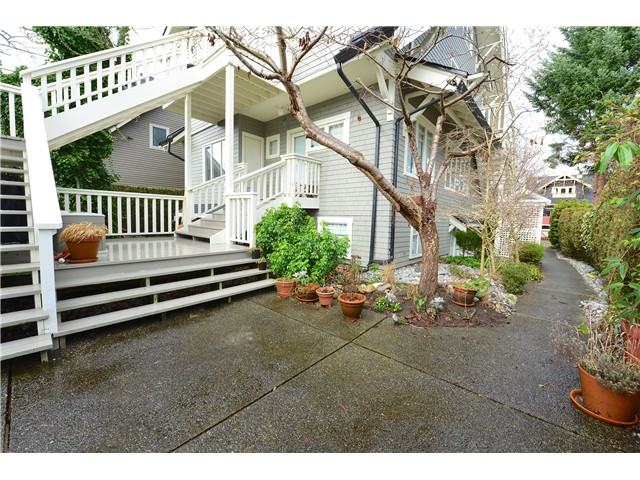 Photo 10: 3452 W 3RD Avenue in Vancouver: Kitsilano Townhouse for sale (Vancouver West)  : MLS® # V991489