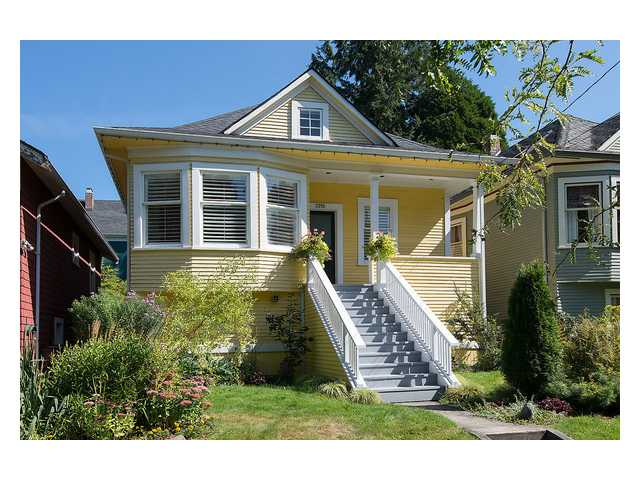 Main Photo: 2916 MANITOBA Street in Vancouver: Mount Pleasant VW House for sale (Vancouver West)  : MLS® # V1083696