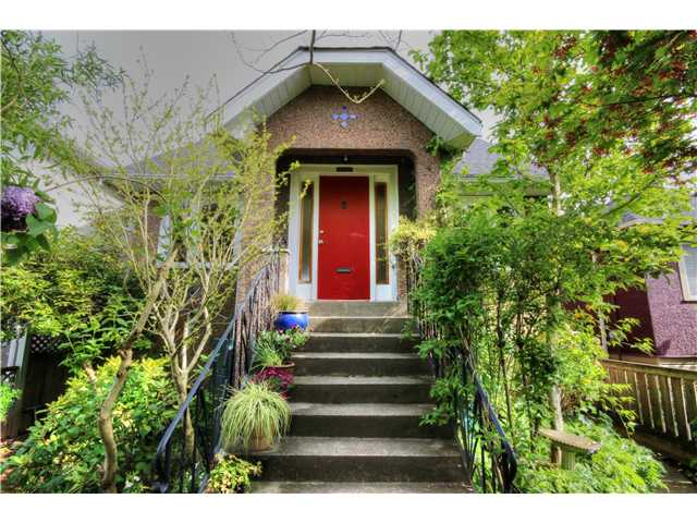 "Main Photo: 2645 NAPIER Street in Vancouver: Renfrew VE House for sale in ""HASTINGS EAST"" (Vancouver East)  : MLS(r) # V1075495"