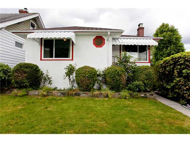 Main Photo: 5892 CREE Street in Vancouver: Main House for sale (Vancouver East)  : MLS® # V953320