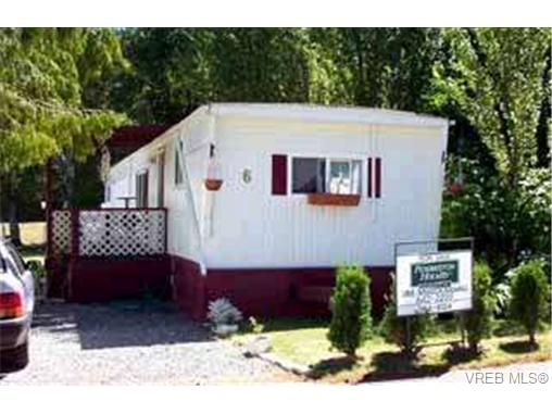 Main Photo: 6 2206 Church Road in SOOKE: Sk Broomhill Manu Single-Wide for sale (Sooke)  : MLS® # 184620