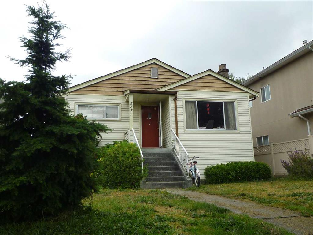 Main Photo: 2577 E 16 Avenue in Vancouver: Renfrew Heights House for sale (Vancouver East)  : MLS(r) # R2071771