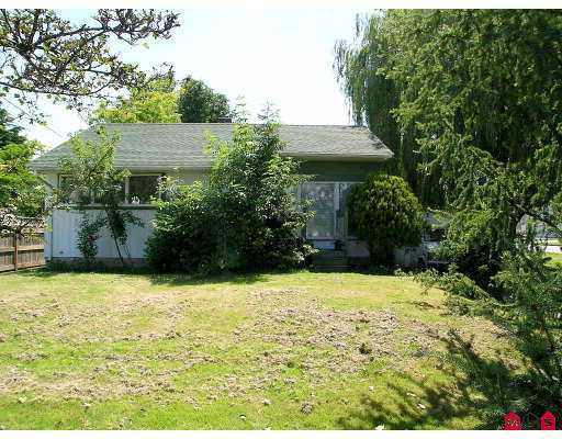 "Main Photo: 45470 BERNARD AV in Chilliwack: Chilliwack  W Young-Well House for sale in ""SOUTHGATE"" : MLS® # H2502140"