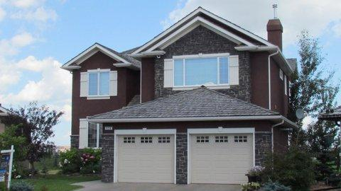 Estate Living on Airdrie's only golf course.  No ball zone - but great views of the course