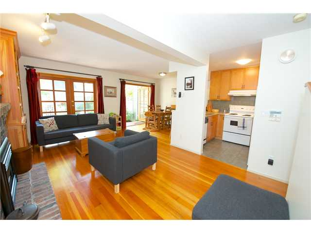 Photo 5: 1936 W 11TH Avenue in Vancouver: Kitsilano Townhouse for sale (Vancouver West)  : MLS(r) # V1013399