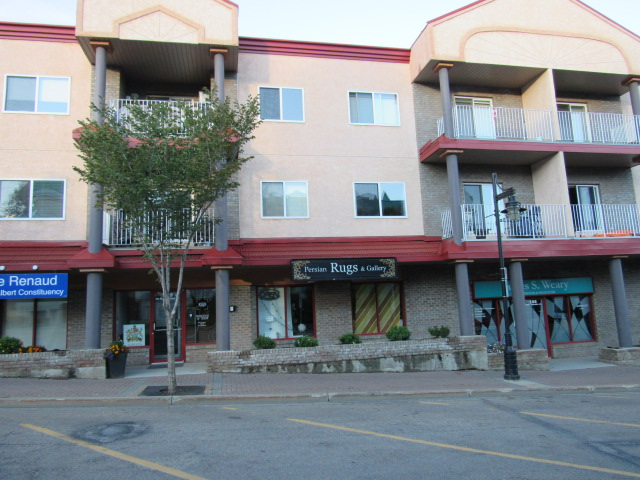 Main Photo: 109A, 50 St. Thomas Street in St. Albert: Retail for sale : MLS(r) # E4035621