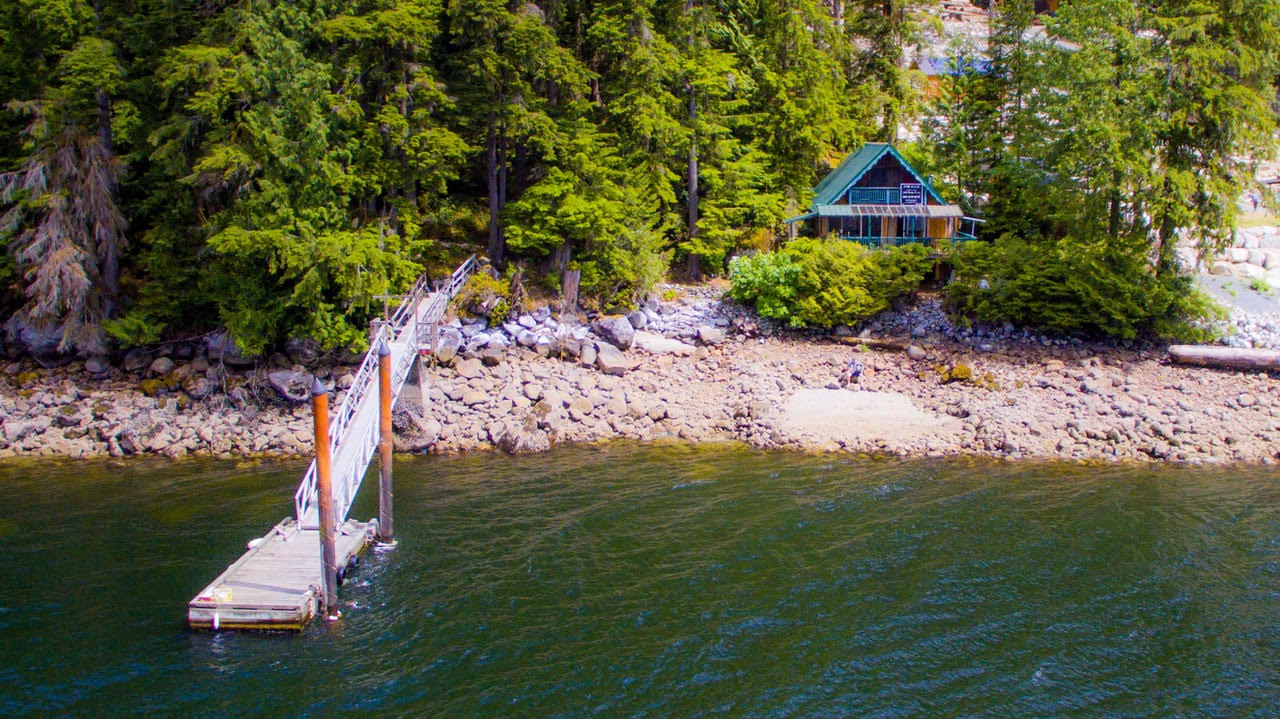 Main Photo: 15 E Croker Island in Indian Arm: Helga Bay House for sale