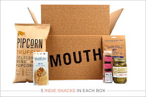 Mouth: Snacks Every Month