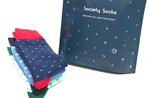 Society Socks Subscription Box