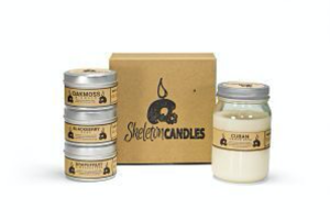 Skeleton Candles Soy Candle Box Subscription
