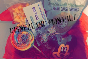 Disney Monthly Snack Subscription