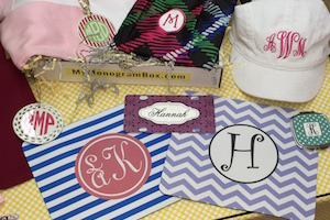 My Monogram Box