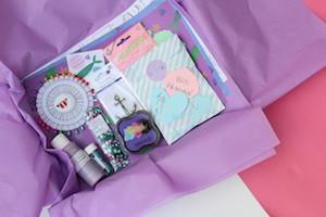 The Glittery Hand Box