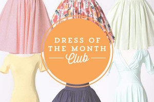 Unique Vintage Dress of the Month Club
