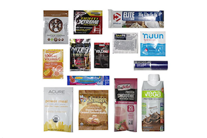 Amazon Nutrition and Wellness Sample Box