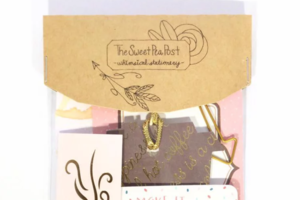 Sweet Pea Post Stationery