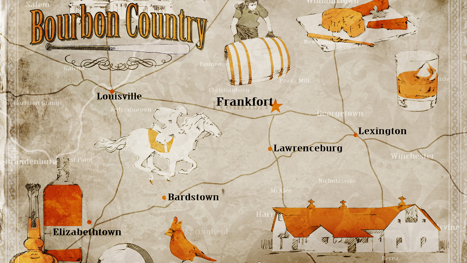 Kentucky bourbon country travel guide whisky advocate for Kentucky craft bourbon trail