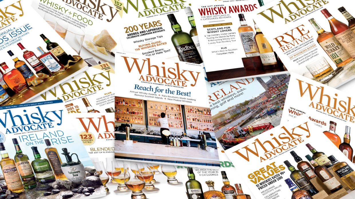 Whisky Advocate latest cover magazine