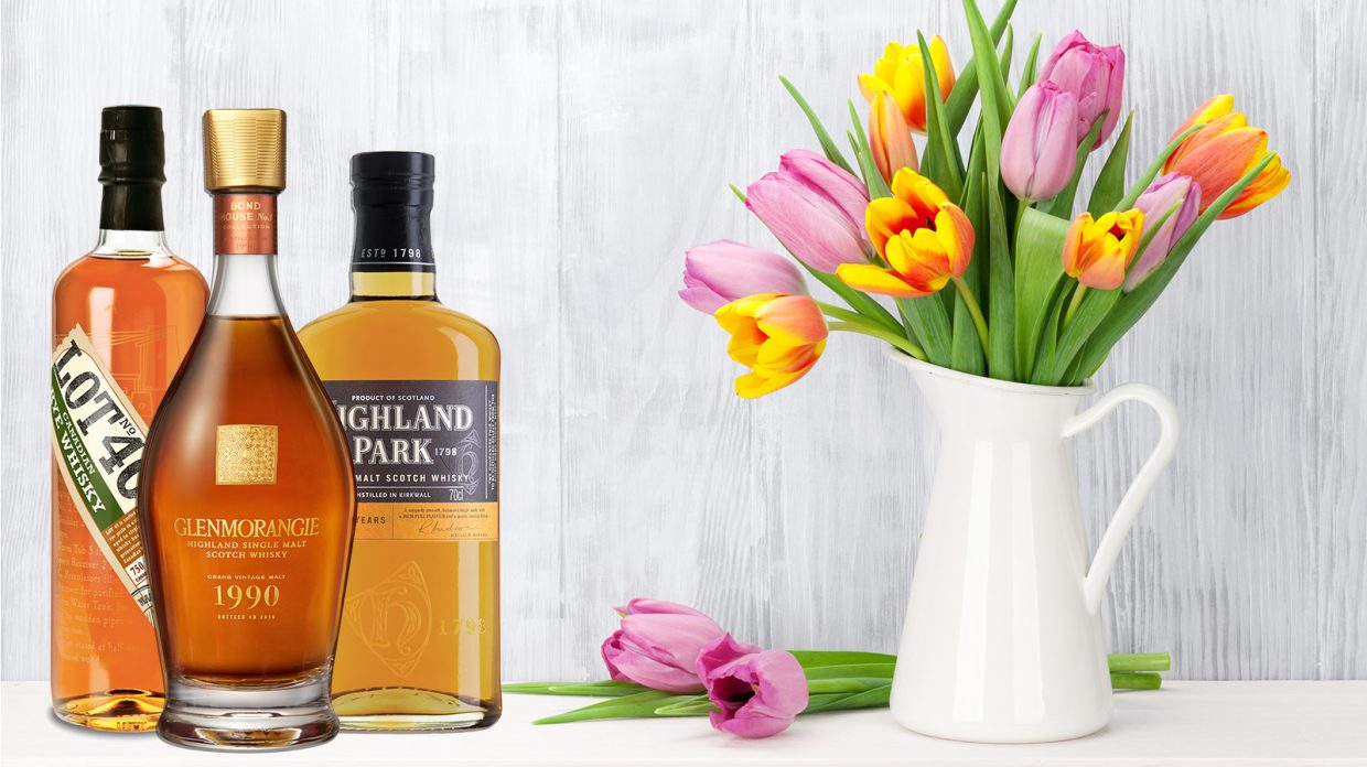 9 Floral Whiskies To Gift This Mothers Day Instead of Flowers