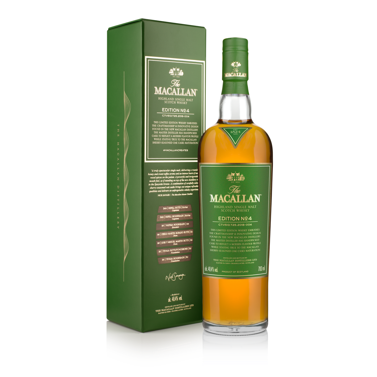 macallan edition no 4 how many bottles