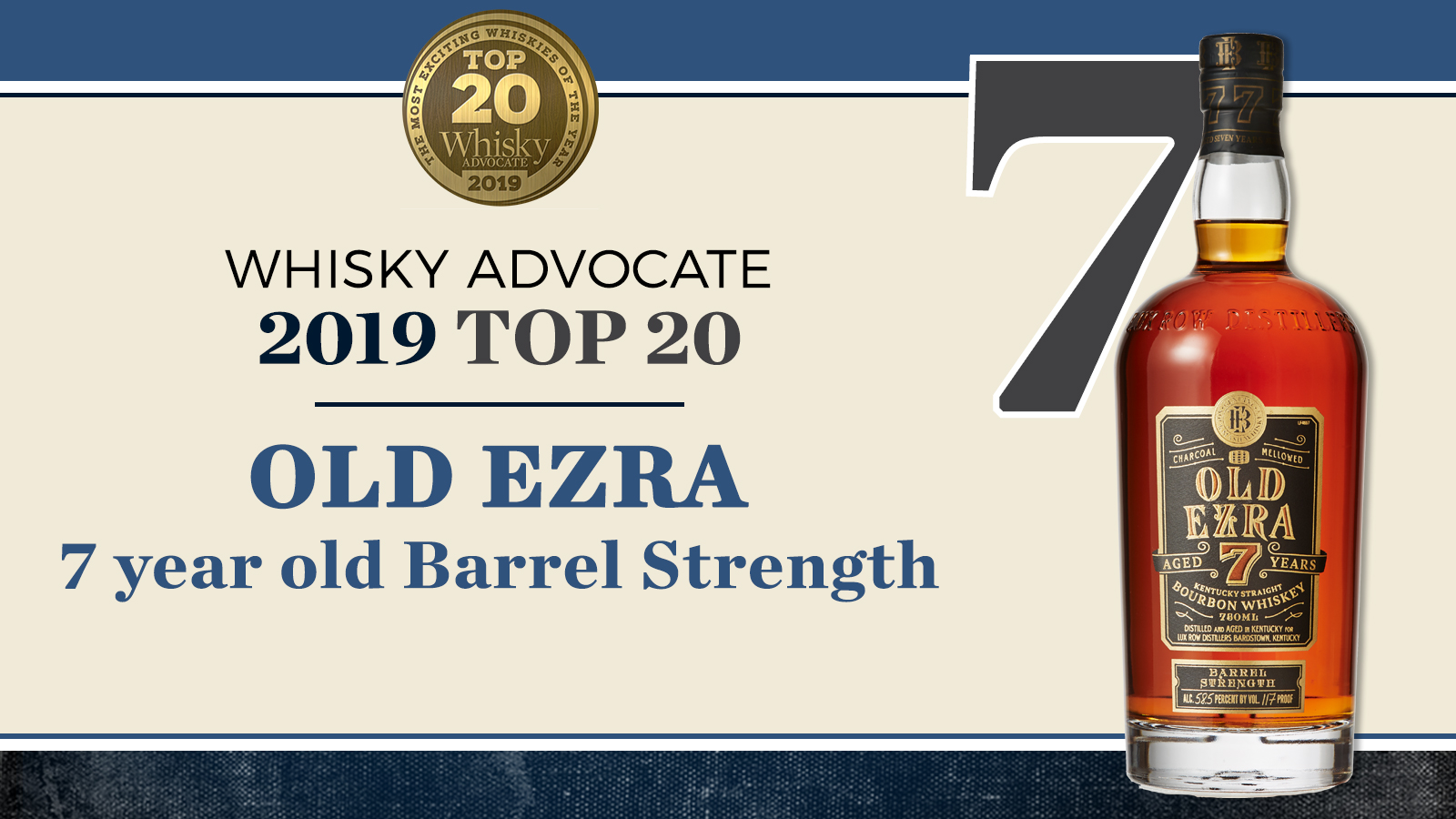 Old Ezra 7 year old Barrel Strength - Whisky Advocate