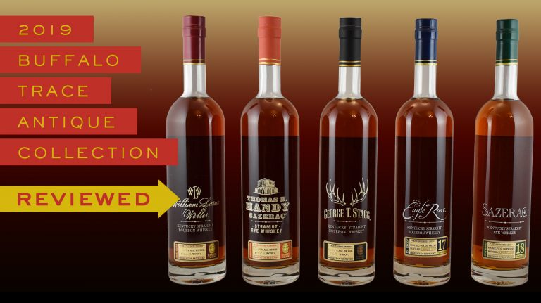 buffalo trace antique collection bottles