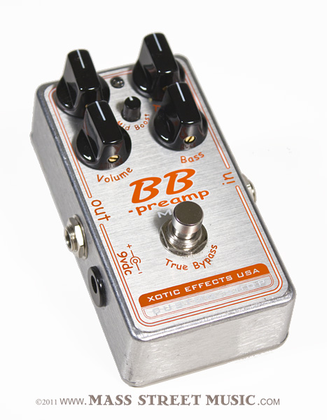 Xotic Custom Shop BB Preamp MB