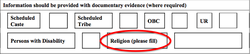 Question on religion