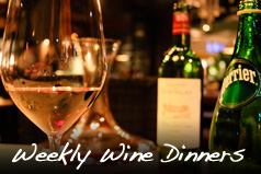 Click to learn more about our Weekly Wine Dinners