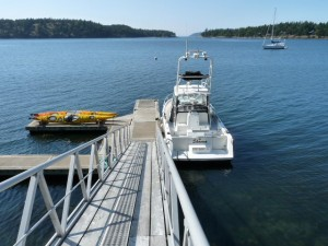 Photo of San Juan Island dock