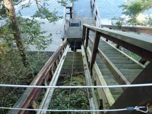 Henry Island lift