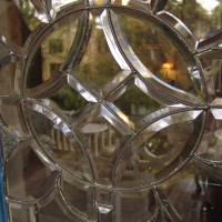 Cut glass window 6240