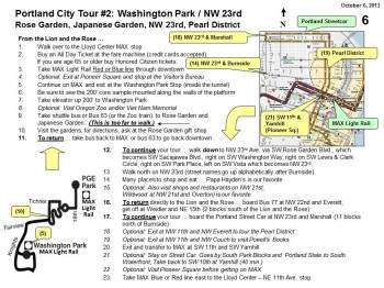 Walking Tour - Gardens & NW 23rd