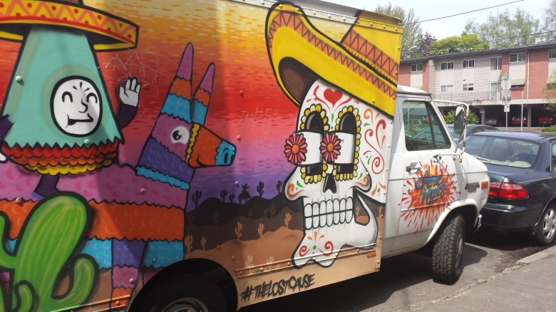 Aztec Willie's Art Truck