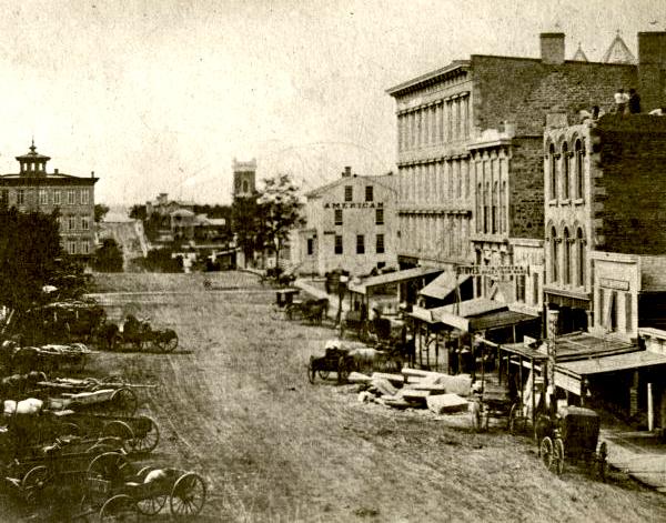 Pinckney Street, ca. 1859.