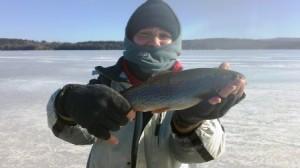 lake winnisquam ice fishing