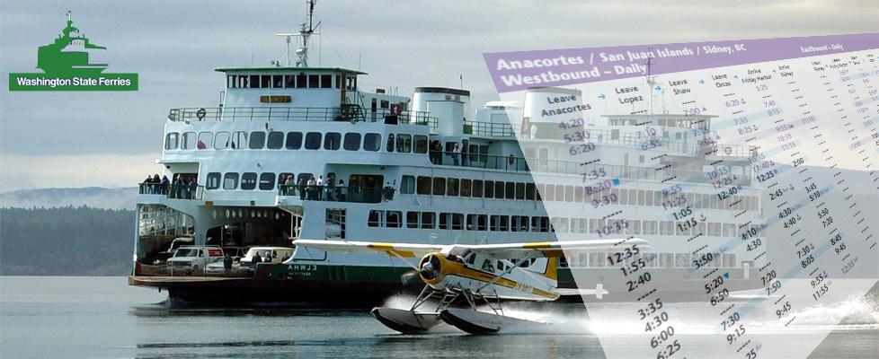 San Juan Island Ferry Schedule From Seattle