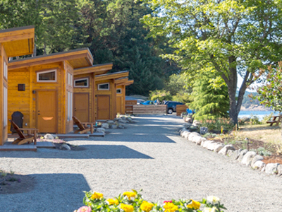 San Juan Island Resort Cabins San Juan Island on the ocean water views photo