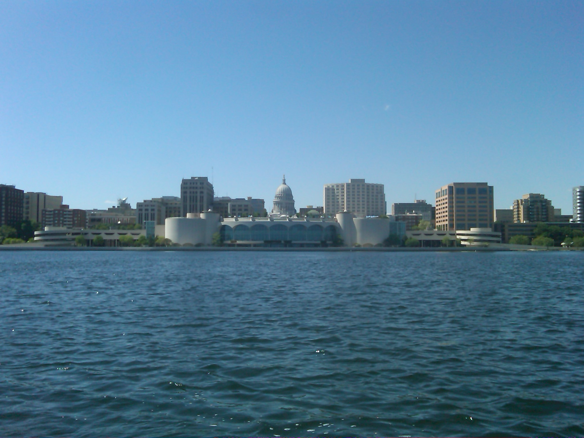 View of Downtown Madison from Lake Monona